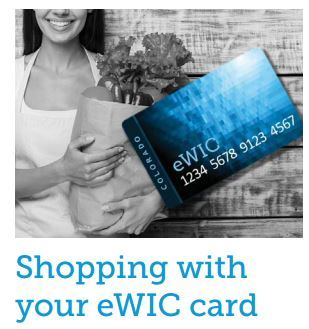 Shopping with your eWIC Card