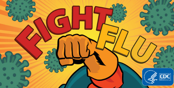 "CDC Says ""Fight Flu"""