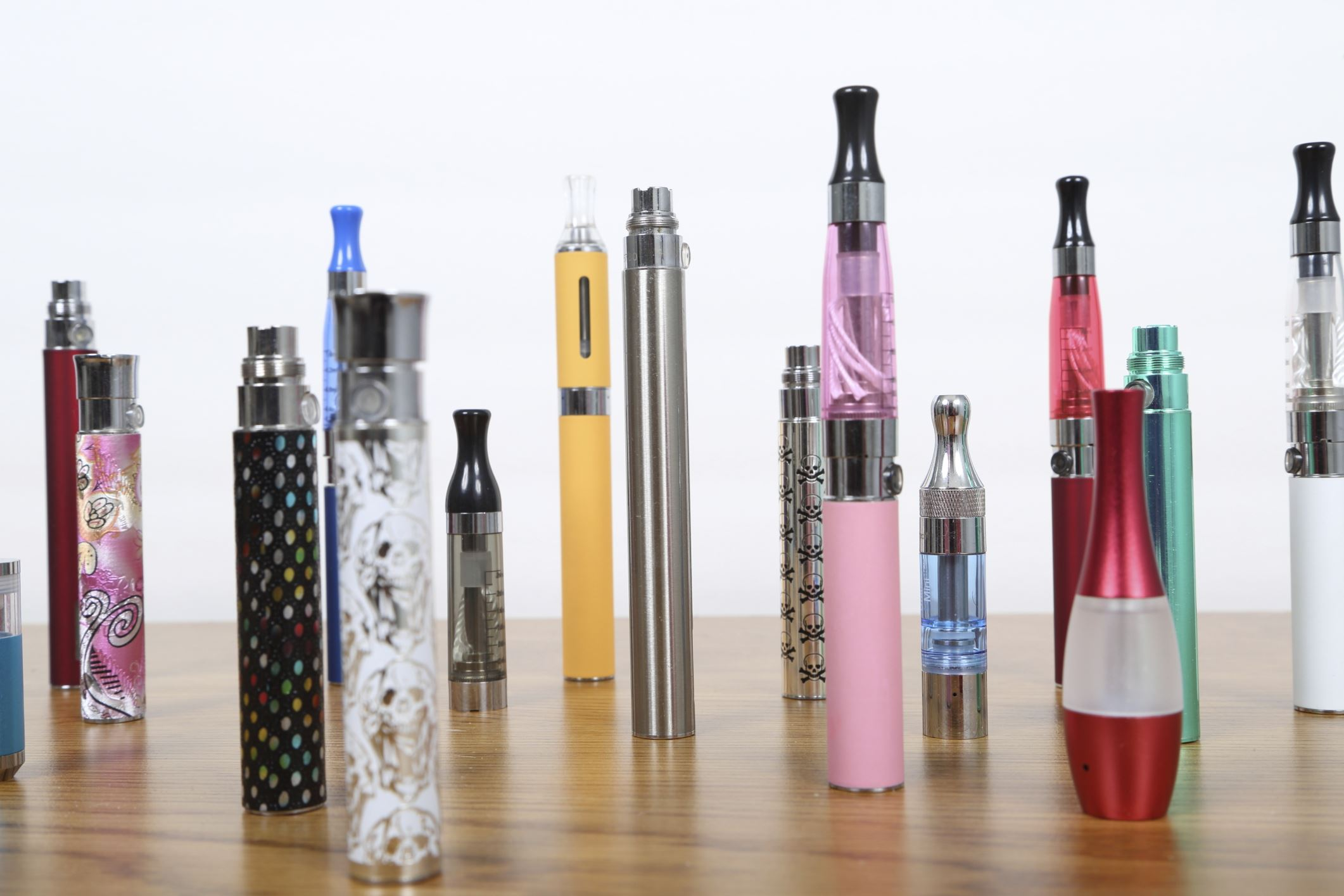 Assorted E-Cigarettes