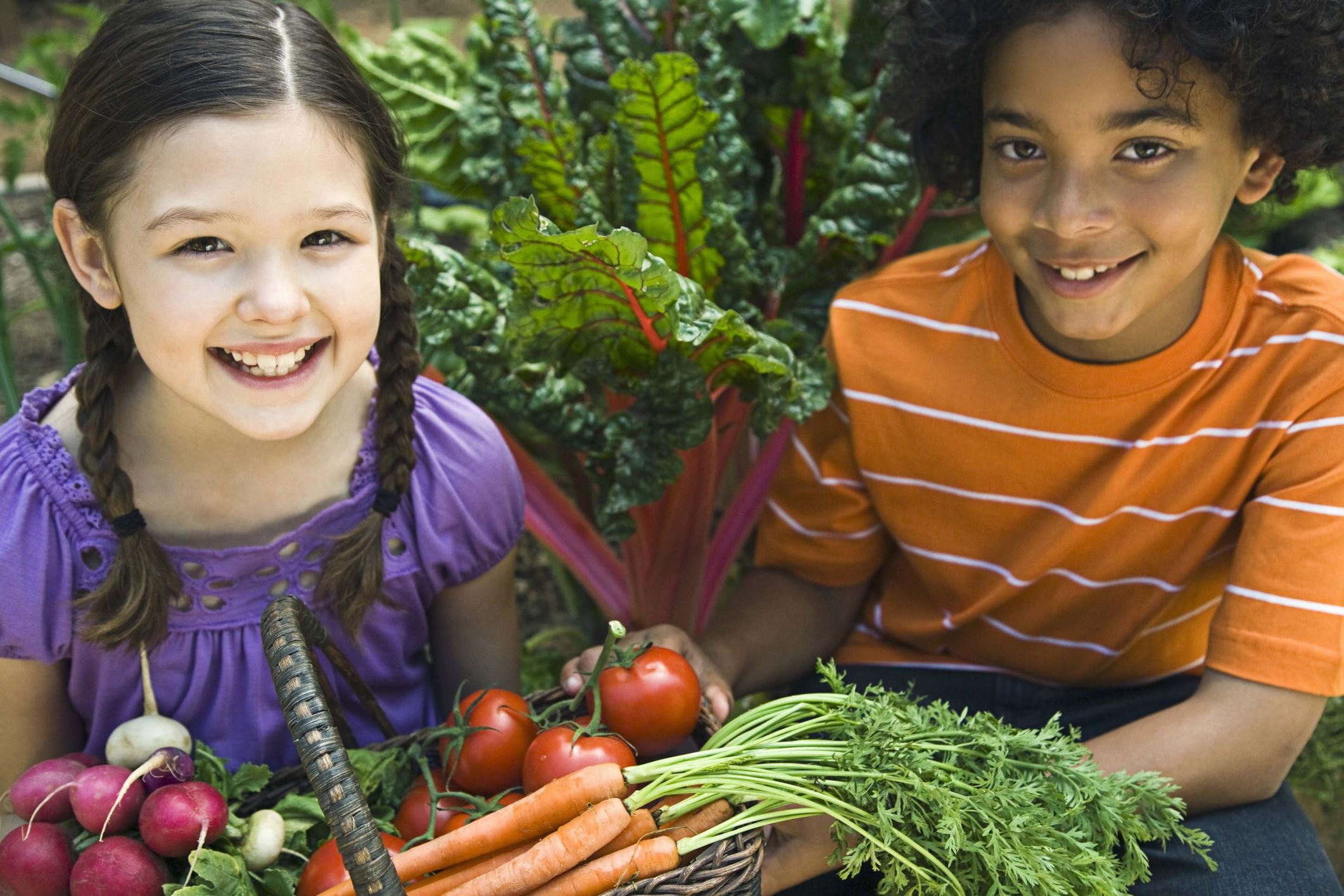 Kids and veggies