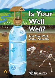 """Is Your Well Well? Test Your Well Water Annually"""