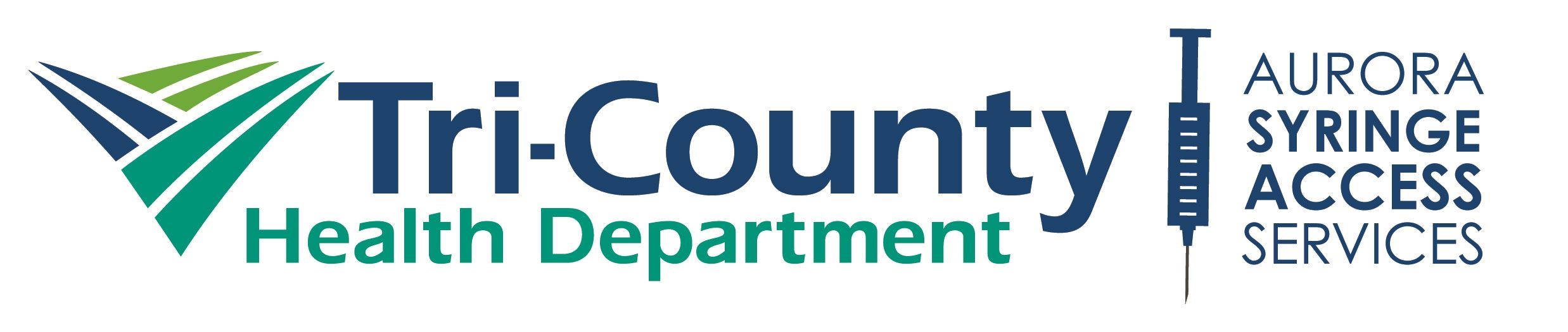 Tri-County Health Department - Aurora Syringe Access Services Logo