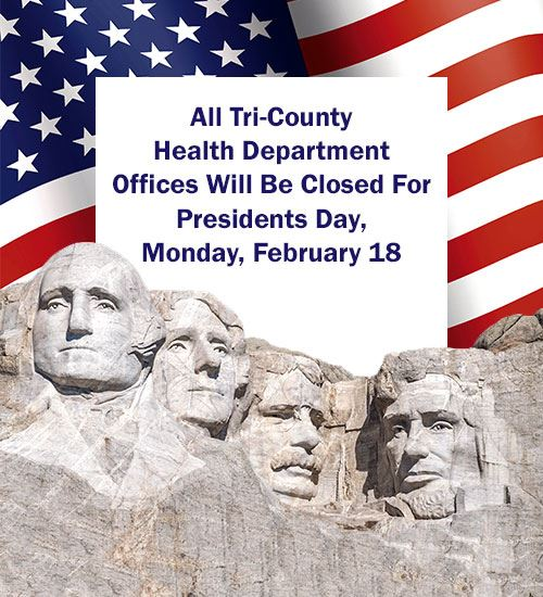 Presidents Day Closure 2019